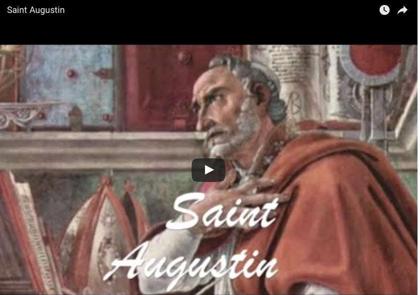 Vidéo : Saint Augustin