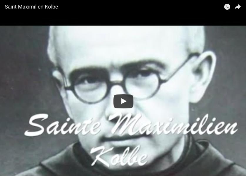 Vidéo : Saint Maximilien Kolbe
