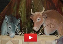 Les symboles de Noël : le boeuf et l'âne